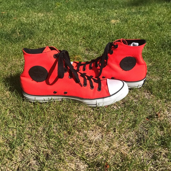 Converse Other - Men's Bright Red Chuck Taylor All Star Converse